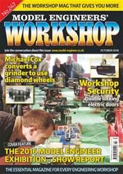 Model Engineers' Workshop Magazine issue Oct-16