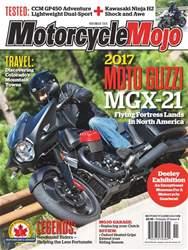 Motorcycle Mojo issue November 2016