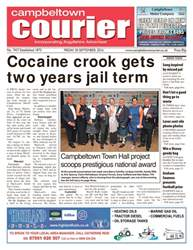 Campbeltown Courier issue 30th September 2016