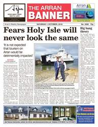 Arran Banner issue 1st October 2016