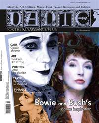 DANTE Oct-Nov 2016 issue DANTE Oct-Nov 2016