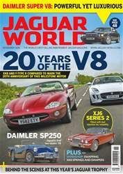 Jaguar World issue No. 177 20 Years Of The V8
