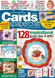 Simply Cards & Papercraft issue 155