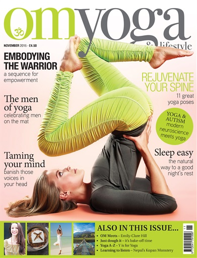 OM Yoga UK Magazine Preview