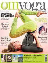OM Yoga USA Magazine issue November 2016