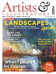 Artist & Illustrators issue November 216