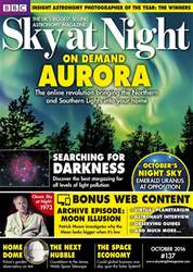 BBC Sky at Night Magazine issue October 2016