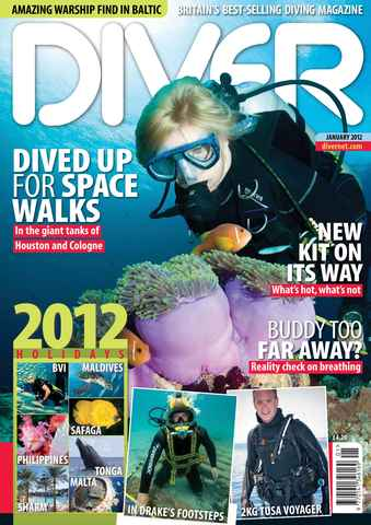 DIVER issue January 2012