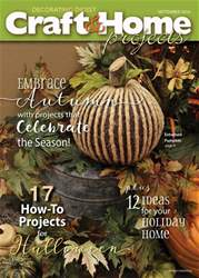 Craft & Home Projects issue September 2016