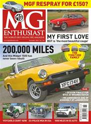 MG Enthusiast issue Vol. 46 No. 12 200,000 Miles
