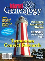 Internet Genealogy issue Oct-Nov 2016
