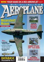 Aeroplane issue November 2016