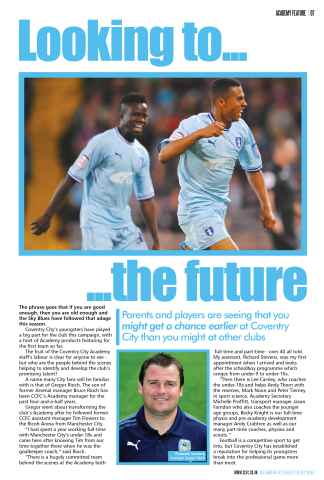 CCFC Official Programmes Preview 7