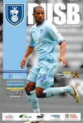 CCFC Official Programmes issue 12 V HULL CITY (11-12)