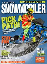 American Snowmobiler issue December 2016