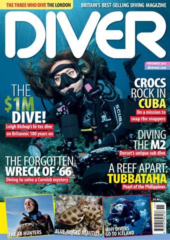 DIVER issue NOVEMBER 2016