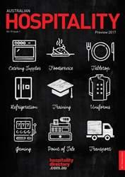Australian Hospitality issue Australian Hospitality
