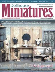 Dollhouse Miniatures issue Issue 54