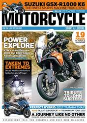 Motorcycle Sport & Leisure issue May 2017