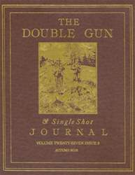 Double Gun and Single Shot issue Autumn 2016