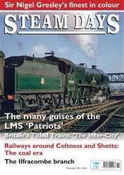 Steam Days issue November 2016