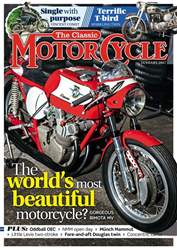 The Classic MotorCycle issue January 2017