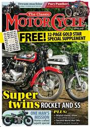 The Classic MotorCycle issue The Classic MotorCycle
