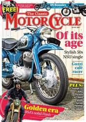 The Classic MotorCycle issue June 2017