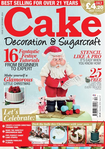 Cake Decoration Sugarcraft Magazine December 2016