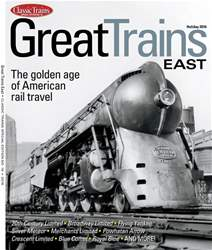 Great Trains East issue Great Trains East