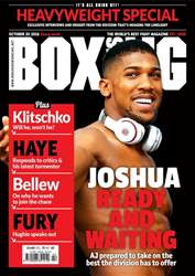 Boxing News UK issue 18/10/2016