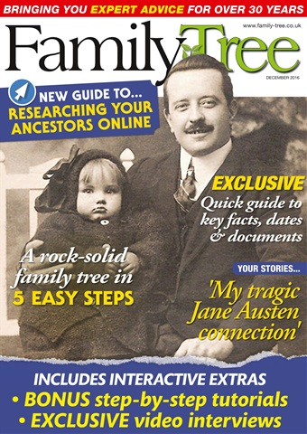 Family Tree issue Family Tree December 2016