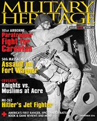 Military Heritage issue November 2016