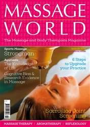 Massage World Magazine Cover