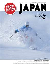 Snow Action issue SnowJapan Mega Guide