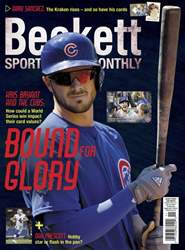 Sports Card Monthly issue November 2016