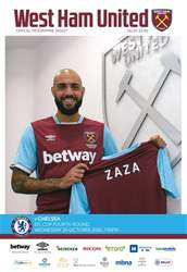 West Ham Utd Official Programmes issue Chelsea