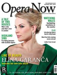 Opera Now issue November 2016