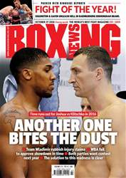 Boxing News International issue 25/10/2016