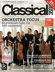Classical Music issue November 2016