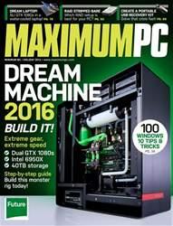 Maximum PC issue Xmas 2016