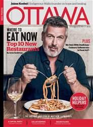 Ottawa Magazine issue Holiday 2016