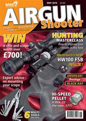 Airgun Shooter issue May 2010