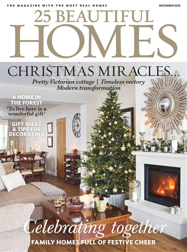 25 beautiful homes magazine december 2016 subscriptions ForBeautiful Homes 2016