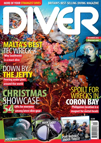 DIVER issue DECEMBER 2016