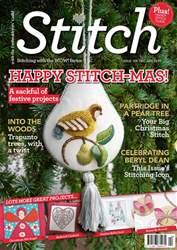 Stitch magazine issue DecemberJan2017