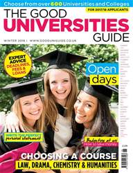 Independent School Parent issue The Good Universities Guide Autumn 2016