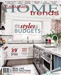 Canadian Home Trends issue Fall 2016