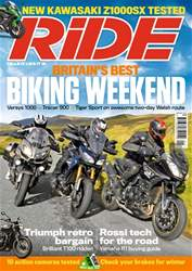 Ride issue January 2017