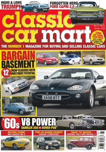 classic car mart magazine vol 23 no 1 bargain basement